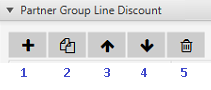 partner group line discount icons.